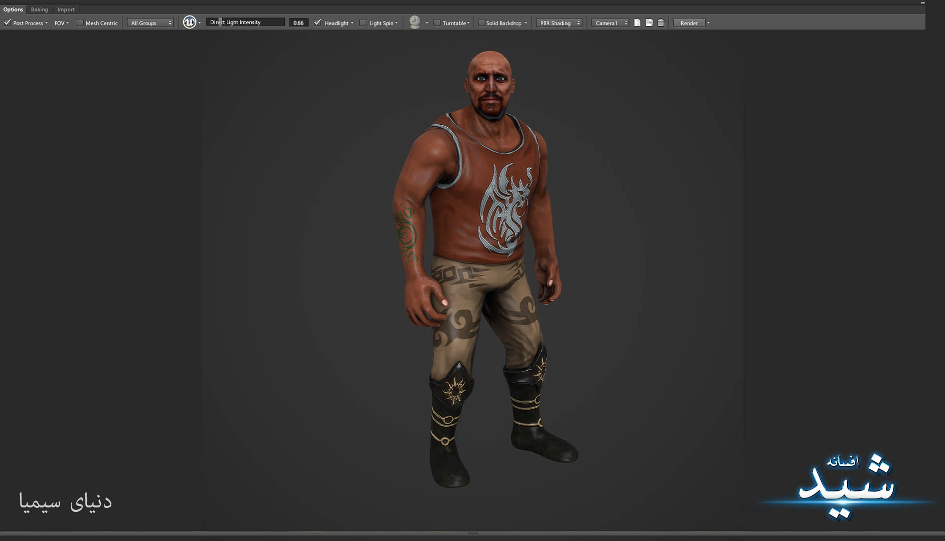 Legend of the light_Bigman Character Texturing_Hadi Beheshti CG Artist Game Designer-12