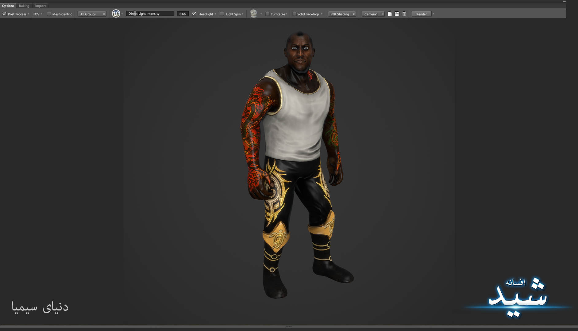 Legend of the light_Bigman Character Texturing_Hadi Beheshti CG Artist Game Designer-13