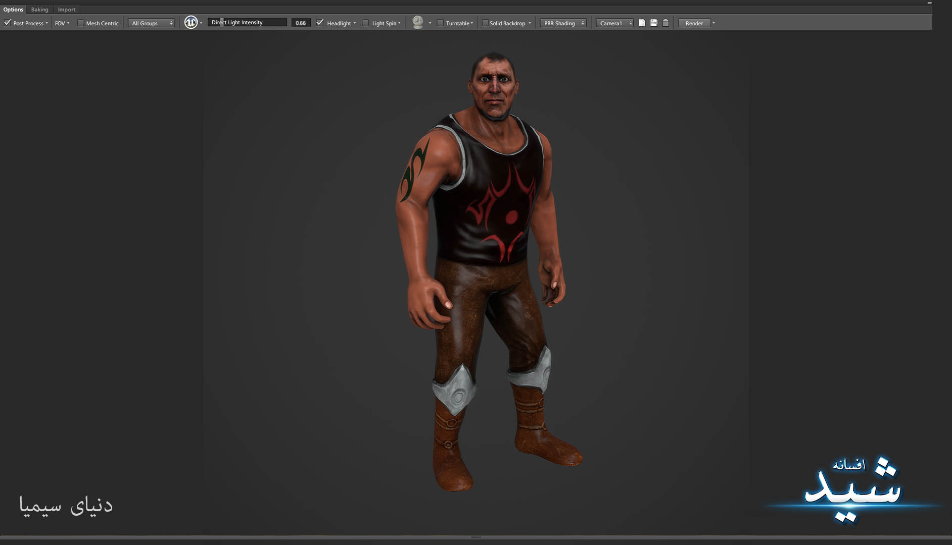 Legend of the light_Bigman Character Texturing_Hadi Beheshti CG Artist Game Designer-14
