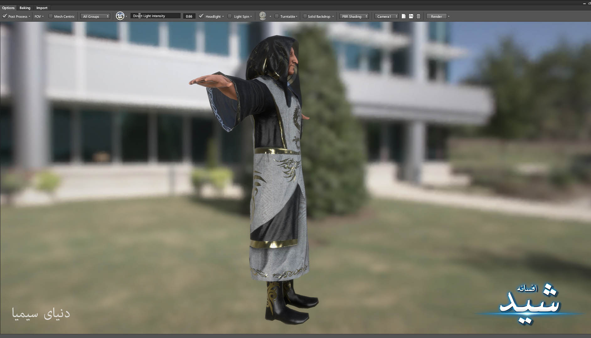 Legend of the light_Witcher Character Texturing_Hadi Beheshti CG Artist Game Designer-10