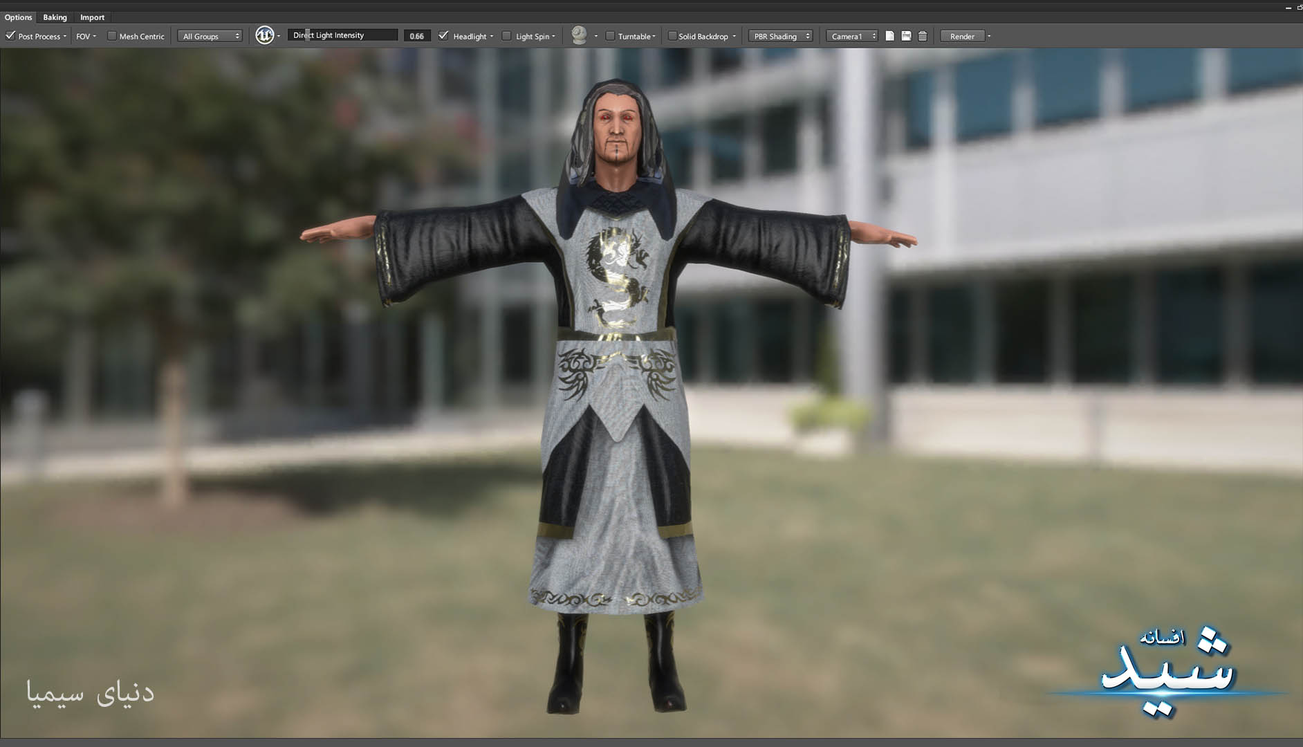 Legend of the light_Witcher Character Texturing_Hadi Beheshti CG Artist Game Designer-11
