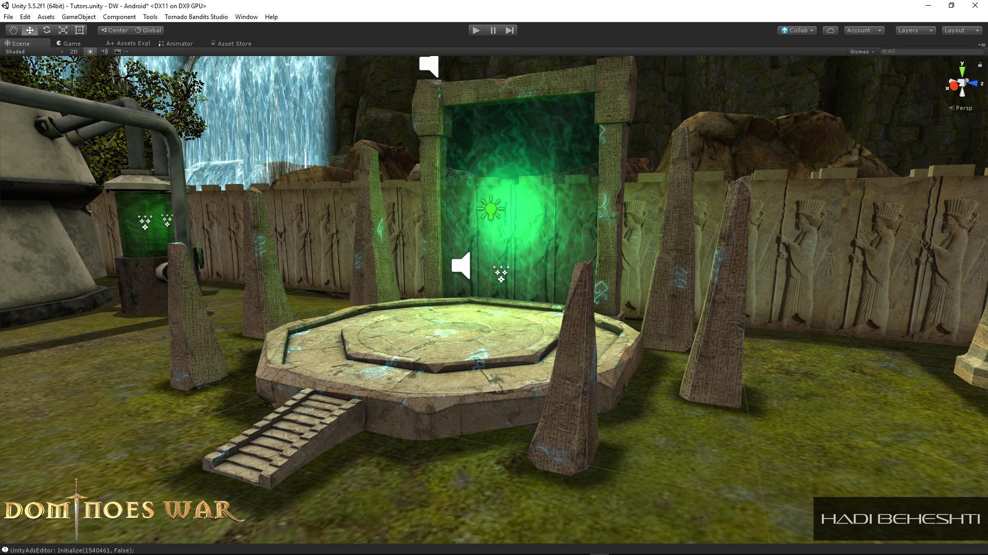 Dominoes War Game Hadi Beheshti CG Artist-2