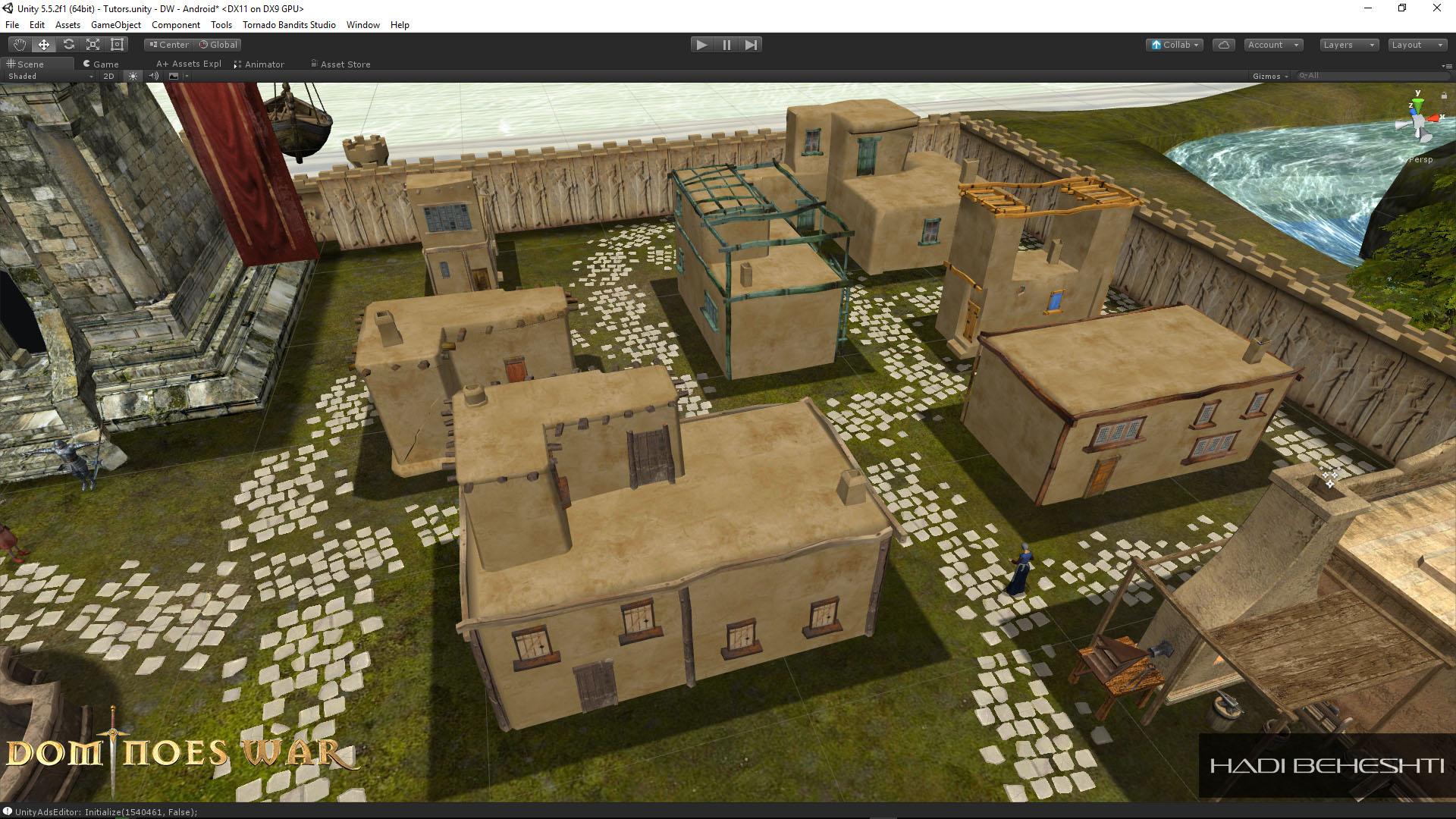 Dominoes War Game Hadi Beheshti CG Artist-8
