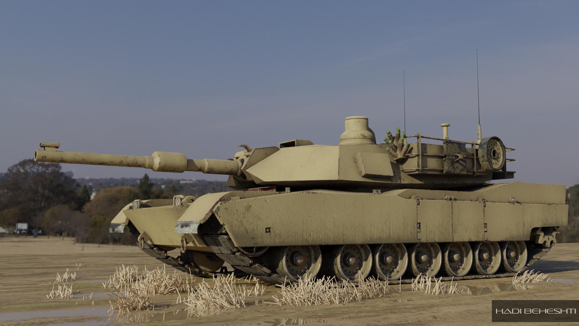 TankBlender_1 by Hadi Beheshti