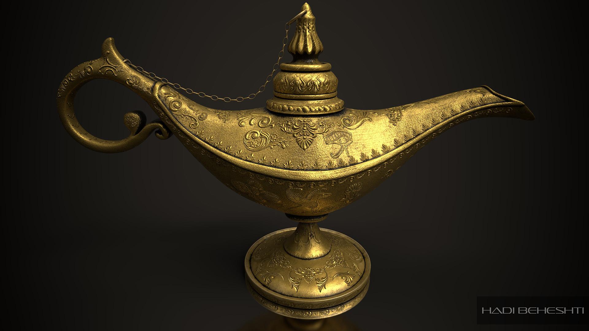 Magic Lamp-Hadi Beheshti-Render_A
